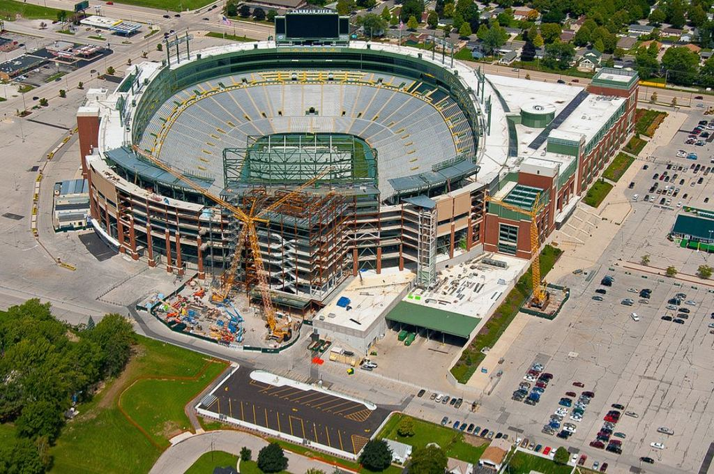 Lambeau Field Renovation 2013